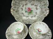 Zachariah Boyle Part tea set for two - Early Victorian